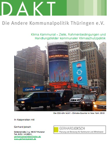 Deckblatt KommKlimaPol